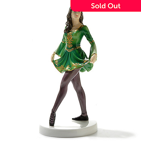 429-201 - Royal Doulton® ''Irish Celtic Dancer'' Limited Edition Bone China Figurine -Signed