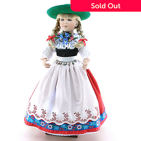 429-209 - Schneider Dolls Oktoberfest Girl Limited Edition Doll