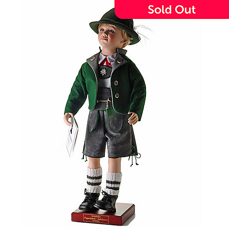 429-211 - Schneider Dolls Oktoberfest Boy Limited Edition Doll