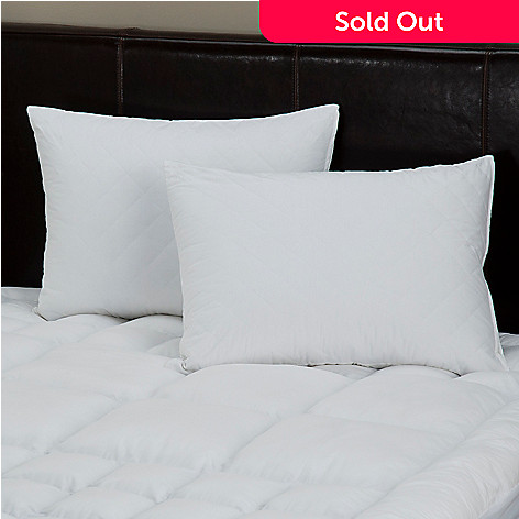 429-407 - North Shore Living™ Quilted Pillowcase Pair w/ Nano-Tex™ Stain Release