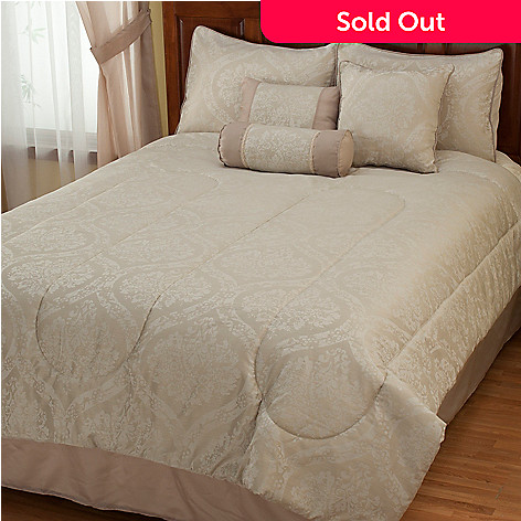 429-408 - North Shore Linens™ ''Lakewood'' Seven-Piece Comforter Set