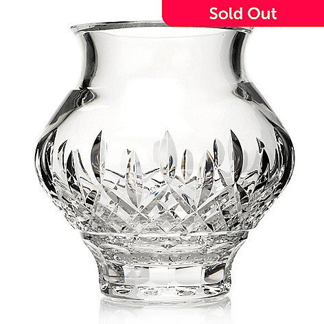 429-421 - House of Waterford® Lismore 60th Anniversary 7'' Crystal Cachepot Vase