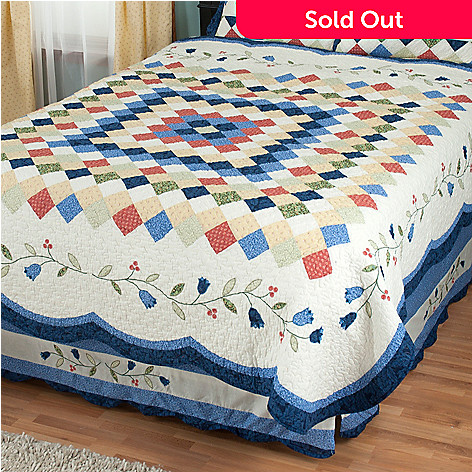 429-596 - North Shore™ Collectible Quilts ''High Falls'' Limited Edition Cotton Quilt