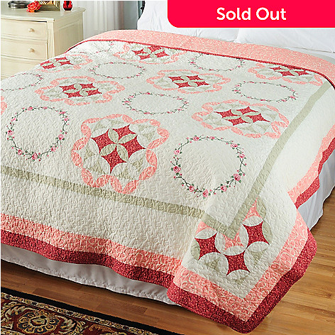 429-608 - North Shore™ Collectible Quilts ''Aria'' Limited Edition 100% Cotton Quilt
