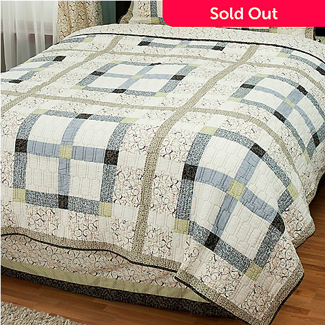 429-612 - North Shore™ Collectible Quilts ''Townhouse'' Limited Edition 100% Cotton Quilt