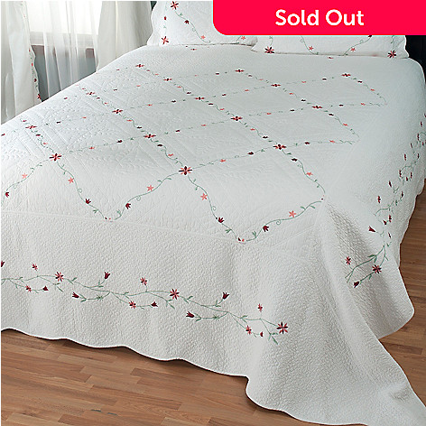 429-620 - North Shore™ Collectible Quilts ''Marie'' Limited Edition 100% Cotton Quilt
