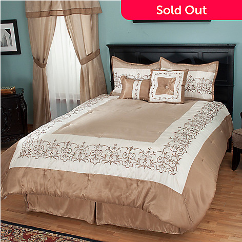 429-731 - North Shore Linens™ ''Kingstone'' 16-Piece Bedding Ensemble