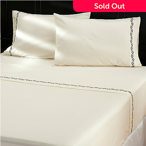 429-732 - North Shore Linens™ ''Kingstone'' Four-Piece Sheet Set