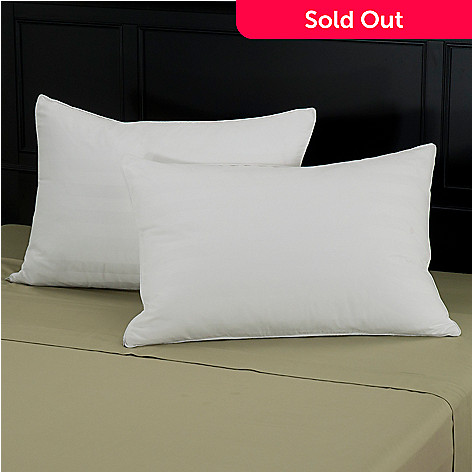 429-771 - North Shore Linens™ Pillow w/ Dobby Pillow Protectors - Set of Two