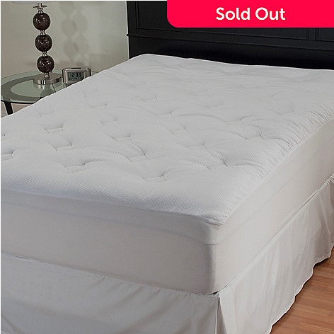 429-781 - North Shore Linens™ Comfort Top Knit Mattress Pad