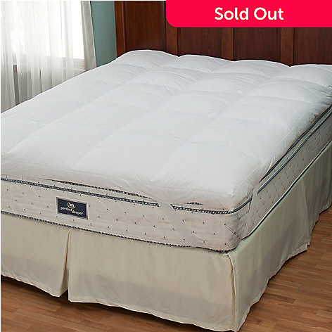 429-784 - North Shore Linens™ Nanotex® 230TC Cotton 3'' Gusseted Featherbed