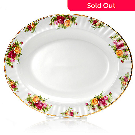 429-787 - Royal Albert® Old Country Roses 13.5'' Medium Serving Platter