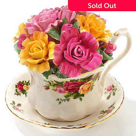 429-790 - Royal Albert Old Country Roses 5'' Musical Teacup