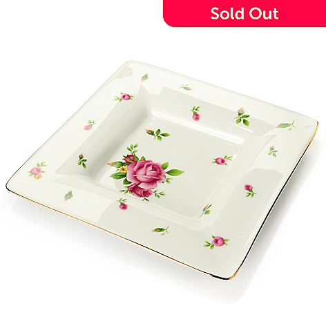 429-797 - Royal Albert® New Country Roses White Square Trinket Tray