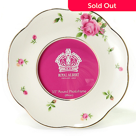 429-802 - Royal Albert® New Country Roses 3-1/2'' Porcelain Picture Frame