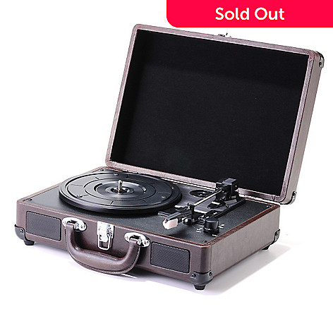 429-817 - Magpix Compact Briefcase USB Turntable