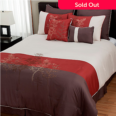 429-909 - North Shore Linens™ ''Angelina'' Eight-Piece Bedding Ensemble