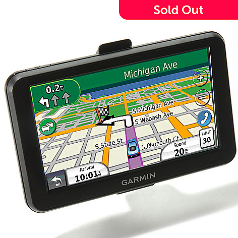 429-919 - Garmin nüvi 2595LMT 5'' Bluetooth®-Enabled GPS w/ Lifetime Maps & Traffic Updates