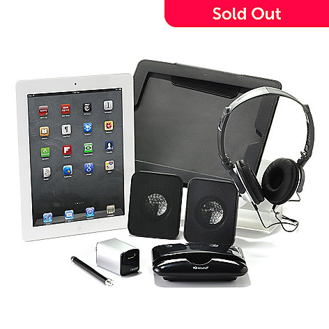 429-920 - Apple iPad Wi-Fi Bundle w/ Folio Case, Dock, Speakers, Stylus & Charge Kit