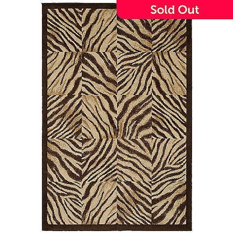 429-934 - Shaw Living™ Zebra Quilt Woven Rug Collection