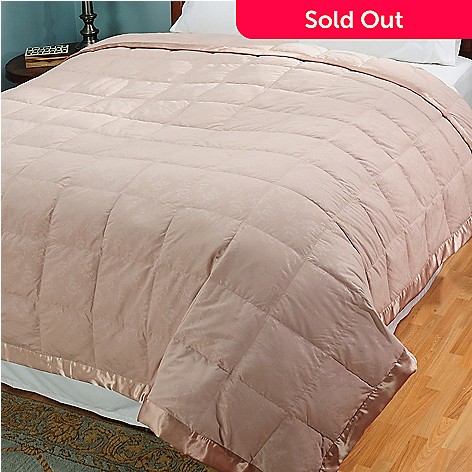 429-995 - Cozelle® Microfiber Embossed White Down Blanket