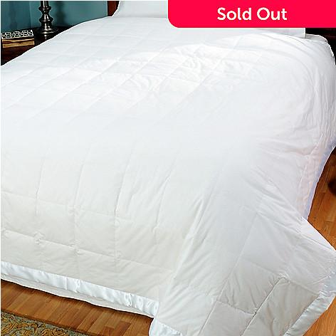 429-996 - North Shore Linens™ Nanotex® 230TC Cotton White Down Blanket