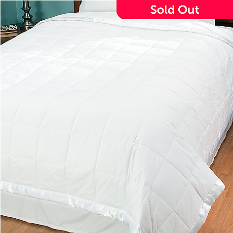 429-997 - North Shore Linens™ Nanotex® 230TC Cotton Down Alternative Blanket