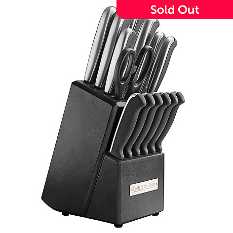 430-156 - Macy's Tools of the Trade 15-Piece Stainless Steel Cutlery Set