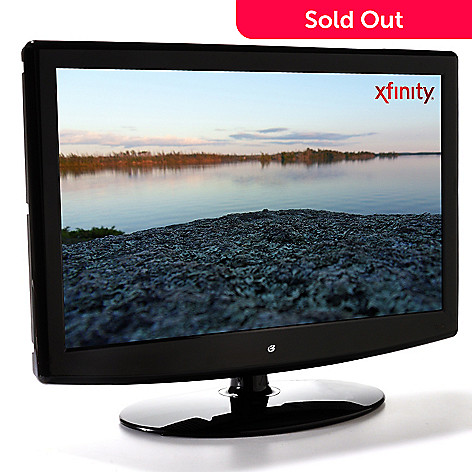 430-298 - GPX® 24'' 1080p LCD HDTV w/ Built-in DVD Player