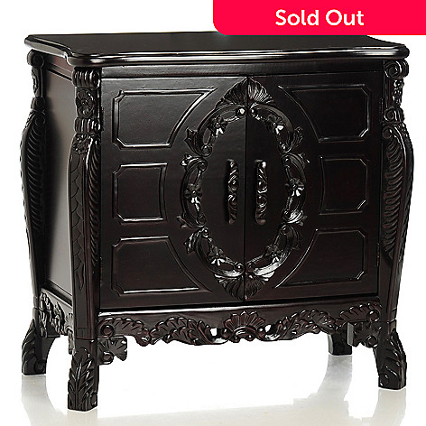 430-301 - Hand Carved Bombay Chest