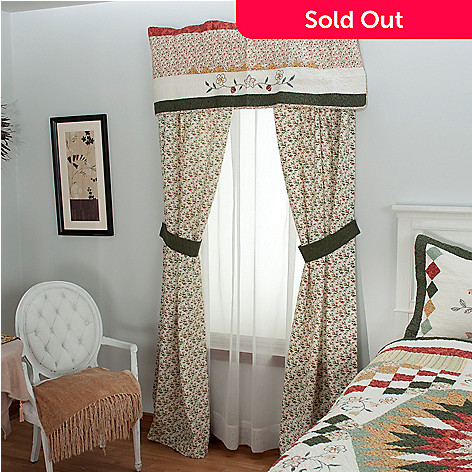 430-314 - North Shore™ Collectible Quilts ''Hayworth'' Five-Piece Window Set