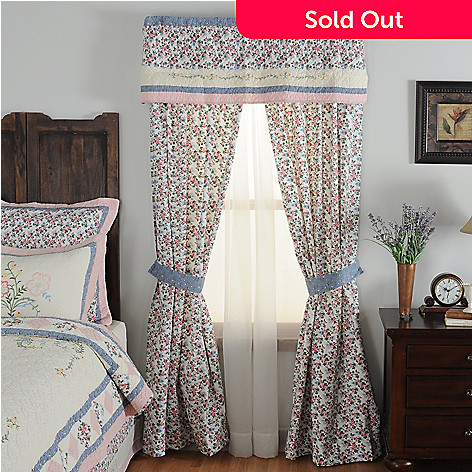 430-321 - North Shore™ Collectible Quilts ''Josie'' Five-Piece Window Set