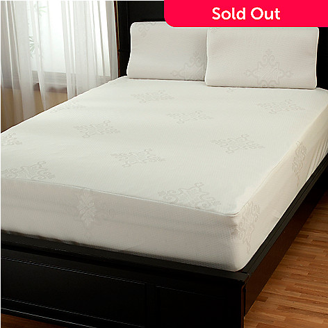 430-407 - EnviroTech® Seven-Zone Mattress Topper w/ Two Memory Foam Pillows