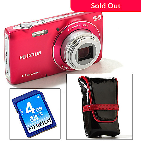 430-465 - Fujifilm Finepix 14MP 8x Wide-Angle Optical Zoom Digital Camera Kit