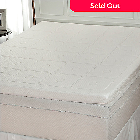 430-503 - sensorPEDIC Luxury Extraordinaire 300GSM Memory Foam Mattress Topper