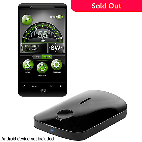 430-649 - Cobra® iRadar® Radar/Laser/Camera Detector for Android