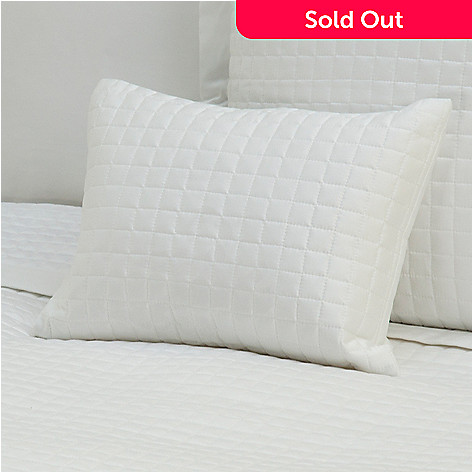 430-673 - 420TC Quilted Supima® Cotton Decorative Pillow