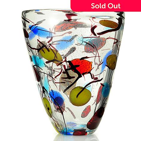 430-691 - Favrile 13'' Hand-Blown Art Glass Vase