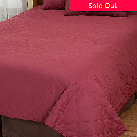 430-704 - North Shore Linens™ Cotton Quilted Coverlet