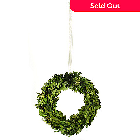 430-850 - Zodax Dried Boxwood Topiary Wreath