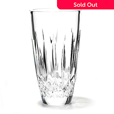 430-851 - Waterford® Crystal Lismore 7'' Vase Signed by Jorge Perez