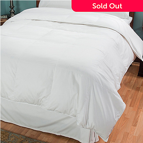 430-859 - North Shore Linens™ 400TC Cotton White Down Comforter