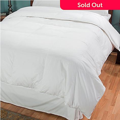 430-859 - North Shore Linens™ 400TC Cotton White Down Comforter
