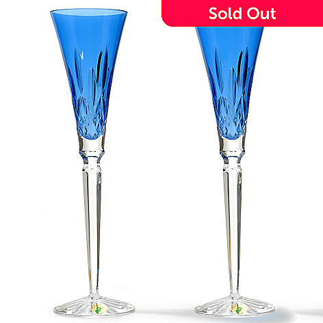 430-874 - Waterford® Crystal Lismore Set of Two 11.25'' Toasting Flutes