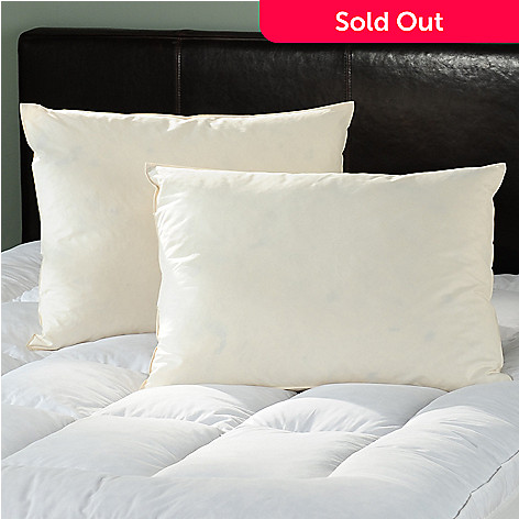 430-911 - North Shore Linens™ 260TC Cotton Feather Pillow Pair