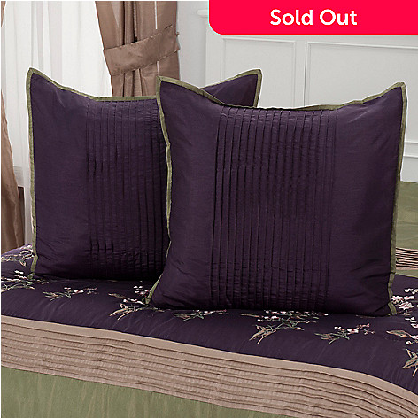 430-968 - North Shore Living™ ''Arles'' Microfiber Euro Sham Pair