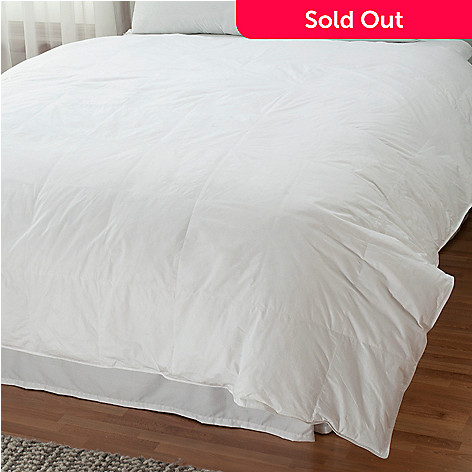 430-987 - North Shore Linens™ 233TC Cotton Cambric White Down Comforter