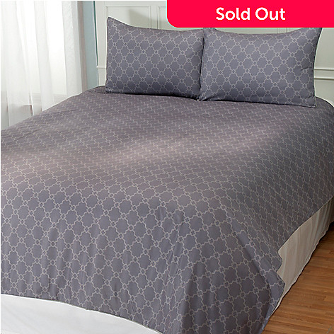 431-007 - Cozelle® ''Camille'' Microfiber Three-Piece Duvet Set