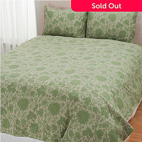 431-014 - Cozelle® ''Sophia'' Microfiber Three-Piece Duvet Set