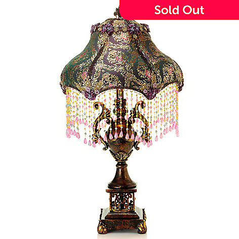 431-046 - Style at Home with Margie 31'' Pemelia's Beaded Table Lamp